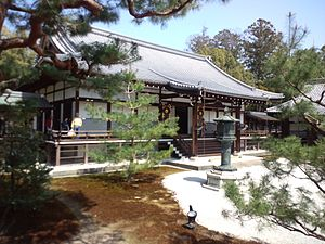 Daikaku-ji - The Miedō hall