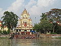 Dakhineswar Temple From The Ganges.JPG