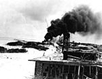 Damaged buildings on Midway 1942.jpg