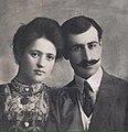 Daniel Varuzhan with his wife Araksi.jpg