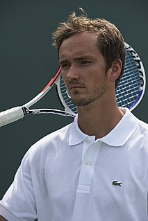 Daniil Medvedev Russian tennis player