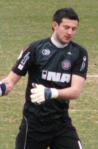 Danijel Subašić - Subašić at Hajduk