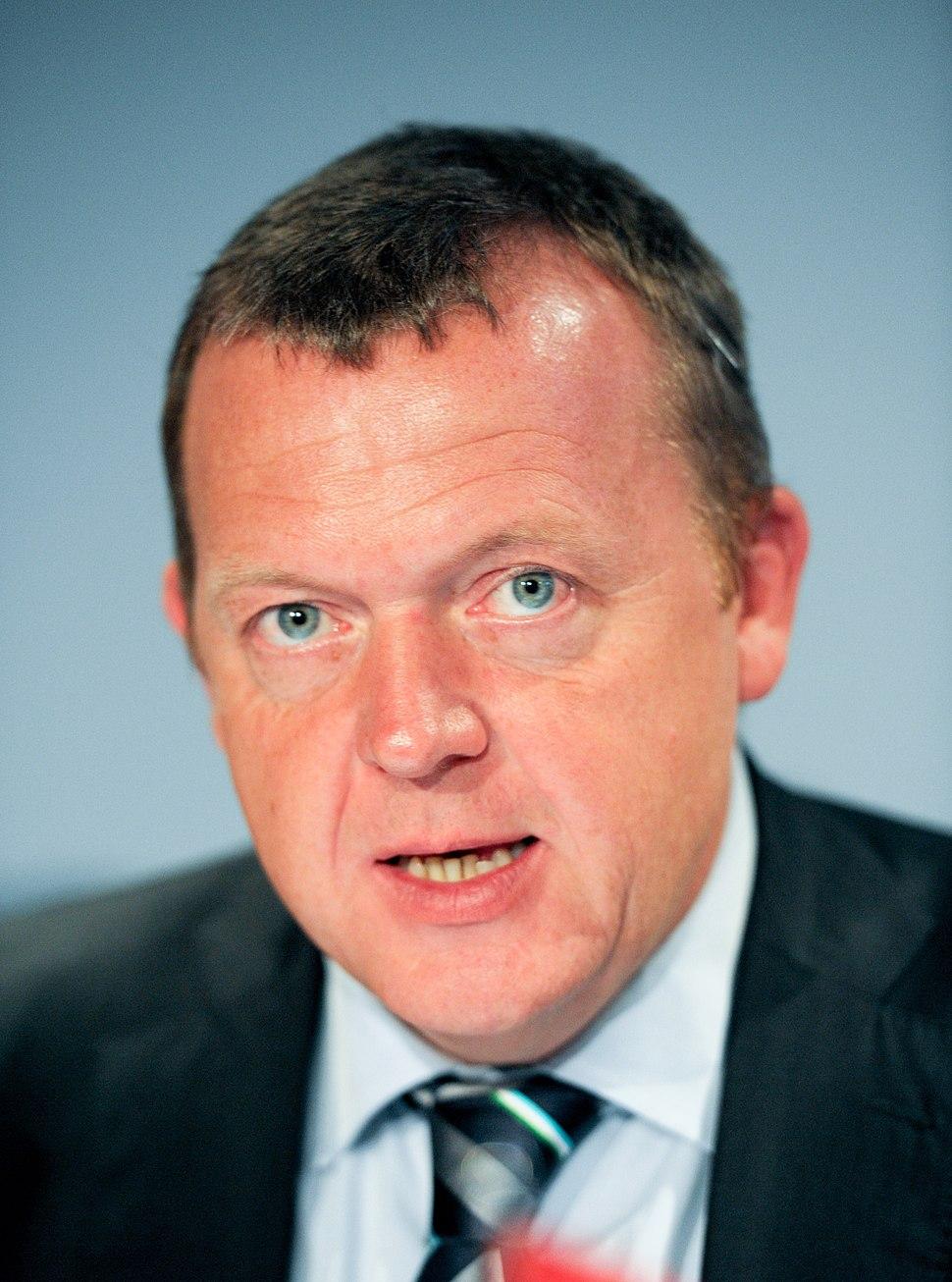 Danmarks statsminister Lars Loekke Rasmussen pa Nordiska radets session i Reykjavik 2010 (1)