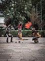 Danza del Fuego performance outside Museo Nacional de Antropología, Chapultepec, CDMX 04.jpg