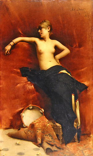 """Oriental Dancer"", also known as ""Salomé"""