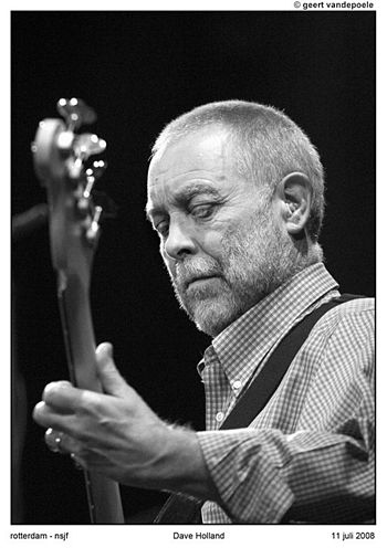 Jazz double-bassist Dave Holland at North Sea ...