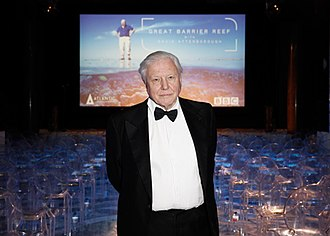 David Attenborough - Attenborough at a special screening of Great Barrier Reef in 2015