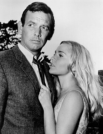 Tuesday Weld - Tuesday Weld in 1964. She is seen here alongside David Janssen in the TV series The Fugitive.