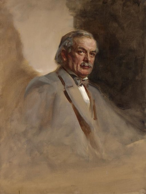 """""""David Lloyd George"""" by James Guthrie"""
