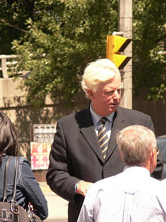 David Miller (Canadian politician) - David Miller at the opening for the Quay to the City.