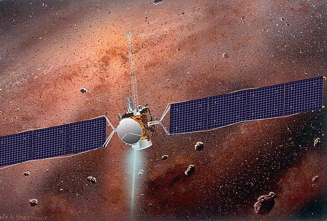 Asteroidengürtel (Künstlerische Darstellung)