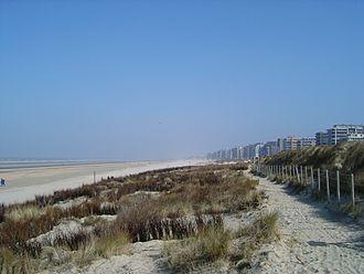 De Panne - Image: De Panne Dunes et plage