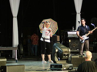 Debbie Harry - Harry performing in June 2007