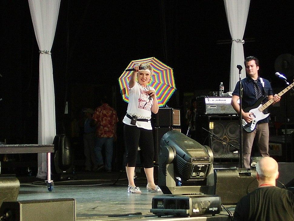 Debbie Harry performing in June 2007
