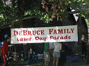Debruce, New York - Labor Day Parade