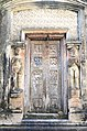 Decorated wooden door of the first Aatchala Shiva temple at Kharar under Ghatal Police Station at Paschim Medinipur district in West Bengal.jpg