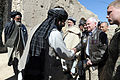 Defense.gov News Photo 110308-D-XH843-036 - Secretary of Defense Robert M. Gates meets with local elders in the village of Tabin outside of Combat Outpost Kowall in Afghanistan on March 8.jpg