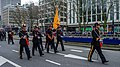 Defilé Korps Mariniers op de Coolsingel te Rotterdam ter ere van het 350 jarig bestaan. (23402988430).jpg