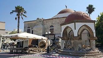 2017 Aegean Sea earthquake - Image: Defterdar moskee 2017