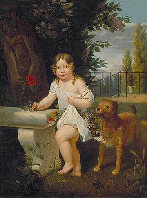 Étienne-Jean Delécluze - Etienne-Jean Delecluze, For my dad, 1818. Musée des Ursulines, Mâcon
