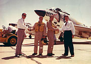Delivery of McDonnell F3H-2 Demon flighters