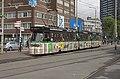 Den Haag HS HTM tram 3075 (Watertuin reclame) (29202574695).jpg