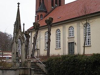 Bad Fallingbostel -  Memorial to Heinrich von Quintus Icilius (1864)