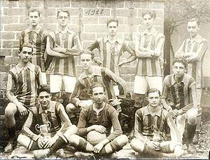 Equipo de 1922 con los 2 Campeonatos Nacionales (Amateur) conseguidos en el  1918 y 1920.  d5abc9cc98906