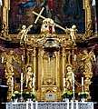 Der barocke Hochaltar im Kloster Schöntal. 03.jpg