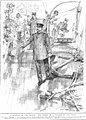 Der britische Dampfer BAN RIGH wird 1901 von den Behörden in London nach Waffen durchsucht. Zeitgenössische Darstellung.jpg