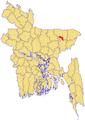 Derai Upazila Map.png