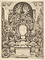 Design for a Cartouche, Plate from Dietterlin's Architecttura MET DP828561.jpg