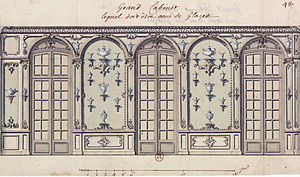 Robert de Cotte - Grand Cabinet (with decorated mirrors)