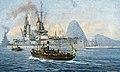 Detachierte Division im Hafen von Rio de Janeiro 1914.jpg