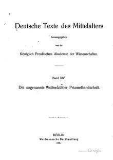 Deutsche Texte des Mittelalters Bd XIV.pdf
