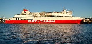 MS <i>Spirit of Tasmania II</i> Bass Strait ferry