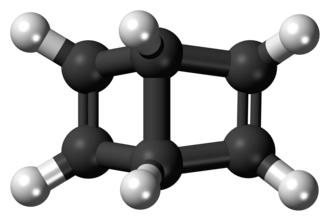 Dewar benzene - Image: Dewar benzene 3D balls