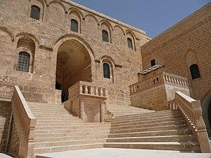 Mor Hananyo Monastery - Image: Deyrulzaferan P1040045 20080501123133