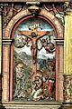 Die Kanzel aus dem Jahr 1581 mit einem fantastischen Bildprogramm. Kreuzigung.jpg