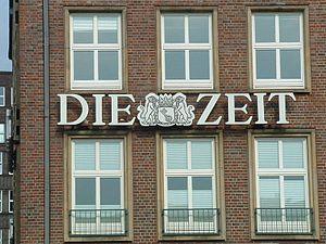 """Logo der Wochenzeitung """"Die Zeit"""" am..."""