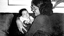 La giovane Rousseff con la figlia Paula