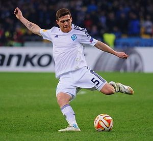 Vitorino Antunes - Antunes playing for Dynamo Kyiv in March 2015
