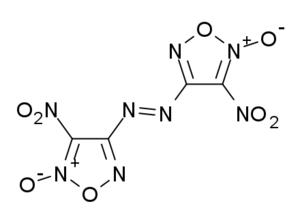 4,4'-Dinitro-3,3'-diazenofuroxan - Image: Dinitrodiazenofuroxa n