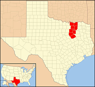 Roman Catholic Diocese of Dallas - Image: Diocese of Dallas in Texas