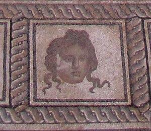 Dionysus mosaic, Dion - Dionysosmosaic Dionysos