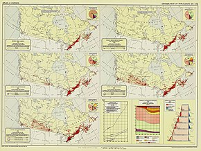 Map Of Canada 1900.Population Of Canada Wikipedia