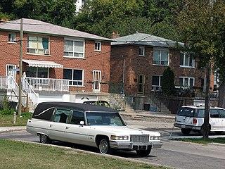 Rockcliffe–Smythe Neighborhood in Toronto, Ontario, Canada