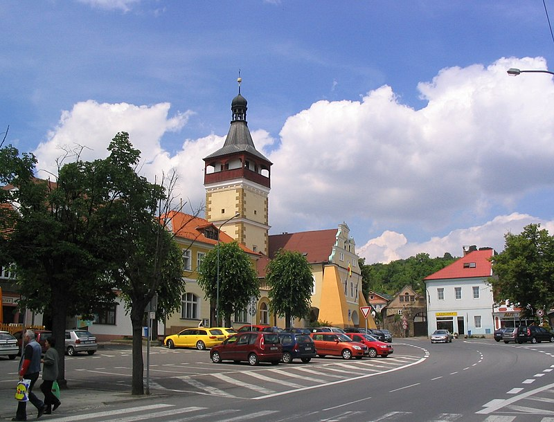 File:Dobrovice-market place.jpg