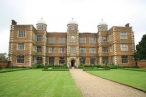 Doddington Hall, Lincolnshire - From the garden