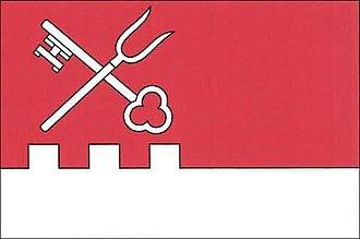 Dolní Cerekev - Image: Dolní Cerekev flag